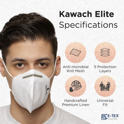 KAWACH Elite Face Mask