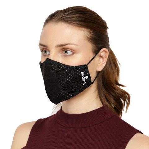 KAWACH Inspire Face Mask Black