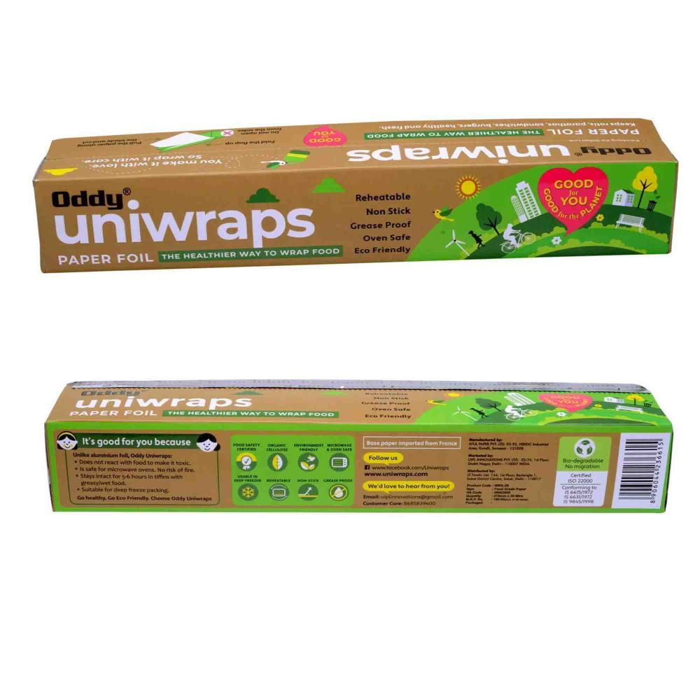 ODDY UNIWRAPS FOOD WRAPPING FOIL 20 MTR.