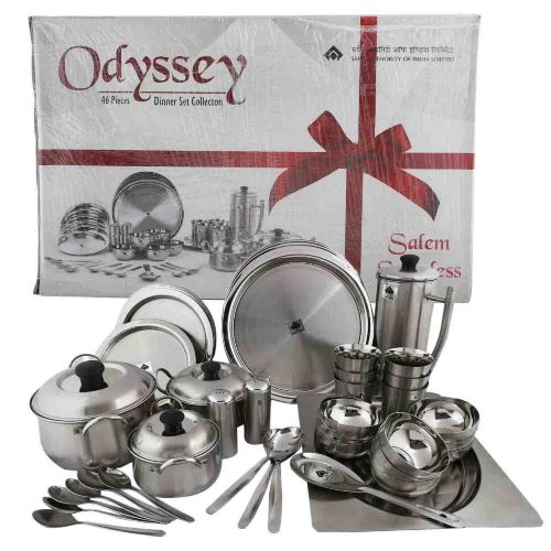 SAIL SALEM 46 Pc Odyssey Dinner Set