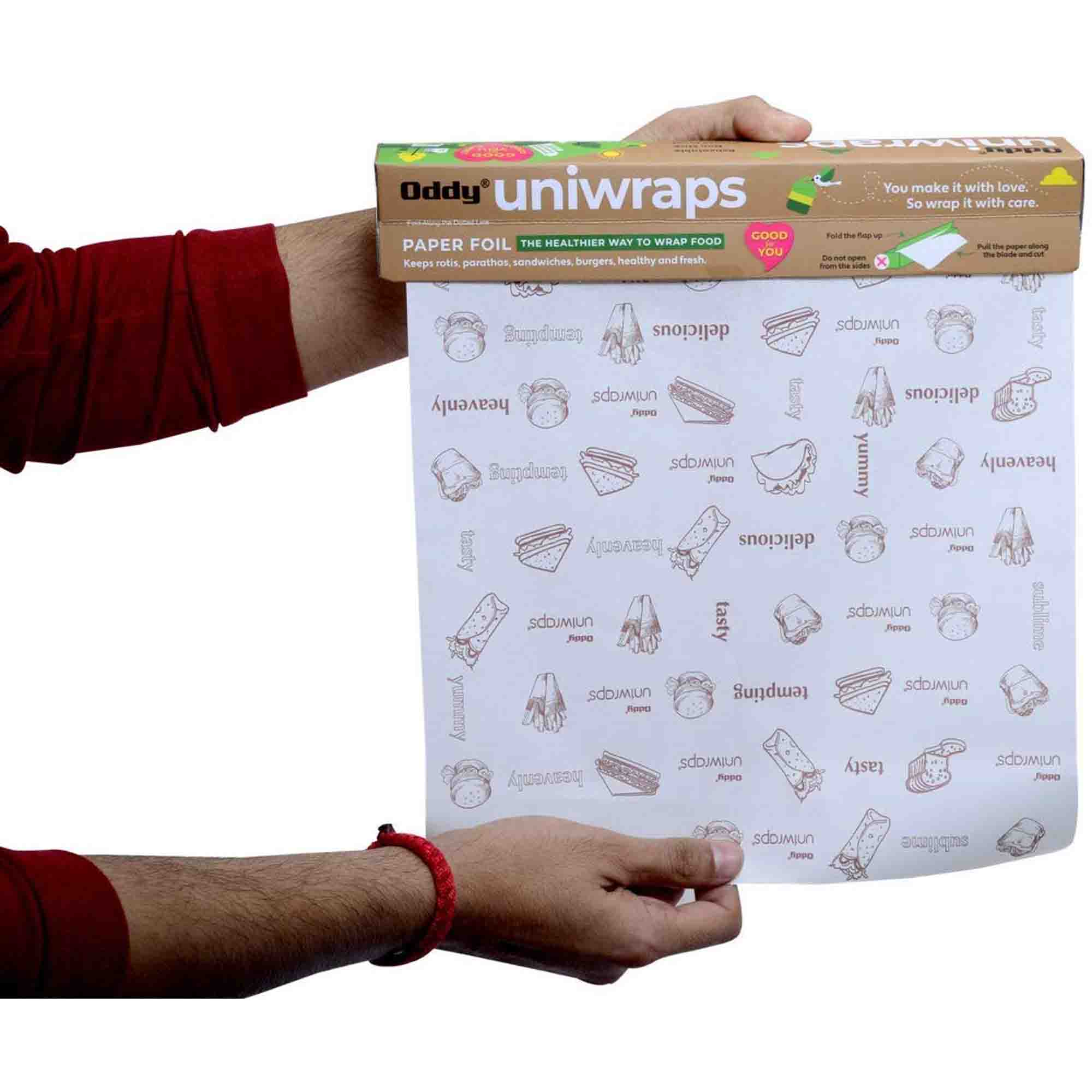 Oddy Uniwraps Food Wrapping Paper (20 m)
