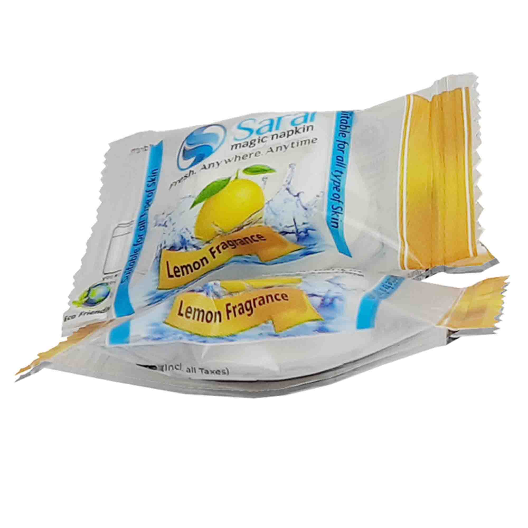 MAGIC COIN TABLET CANDY PACK FRAGRANCE LEMON FLAVOUR magic coin tablet lemon flavour, saral, saral magic napkin, saral magic tablet napkin, saral magic napkin price, magic napkin manufacturer, saral premium fabric napkins, swaroop industries, cotton tablet, tablet tissue manufacturers, Saral Magic Napkin ,Tablet Napkins Lemon , apnagharmart , apnagharmart.com