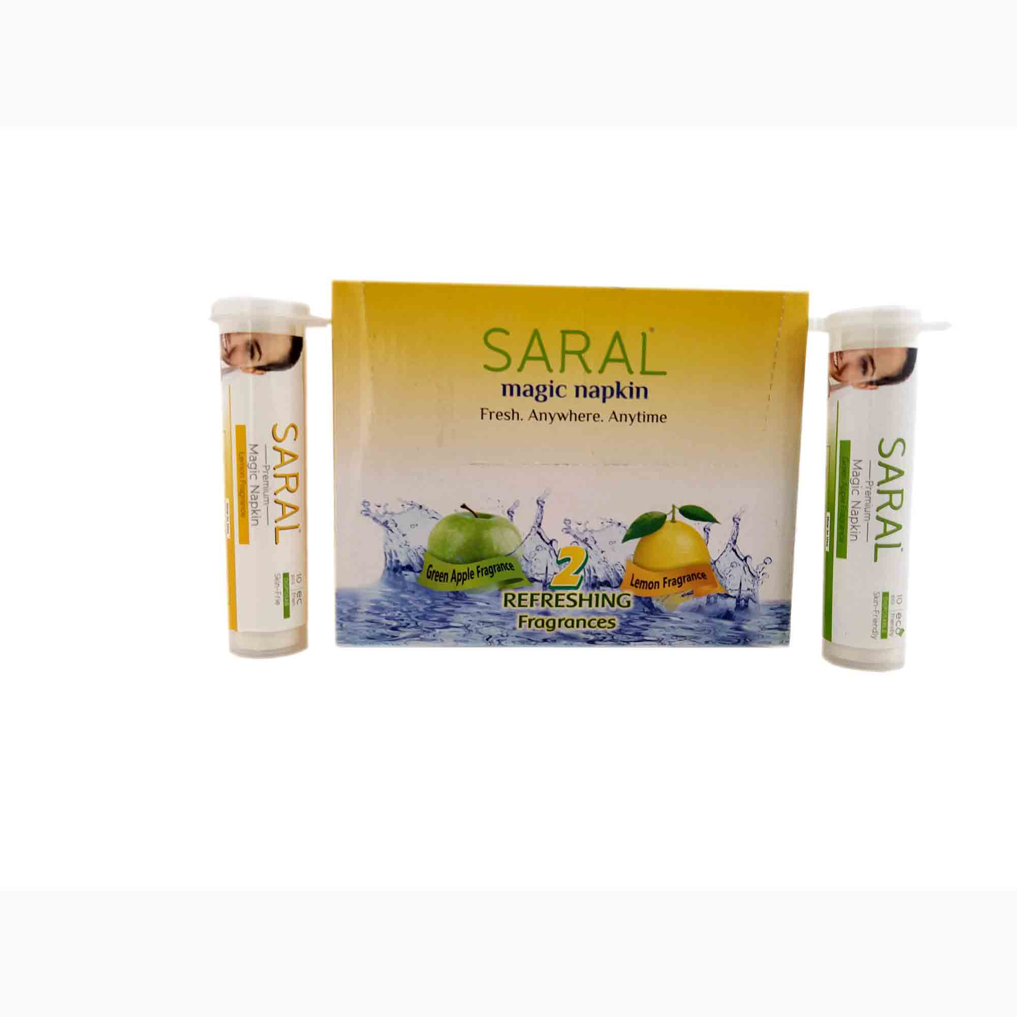 Saral Magic Napkin 12 pcs Tube