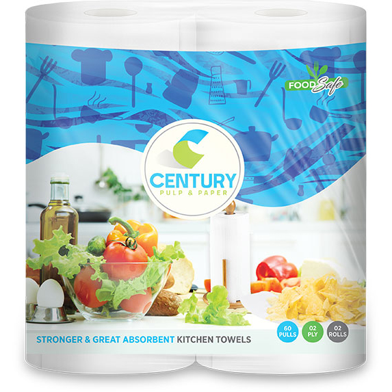 CENTURY Kitchen Towels 2 Ply