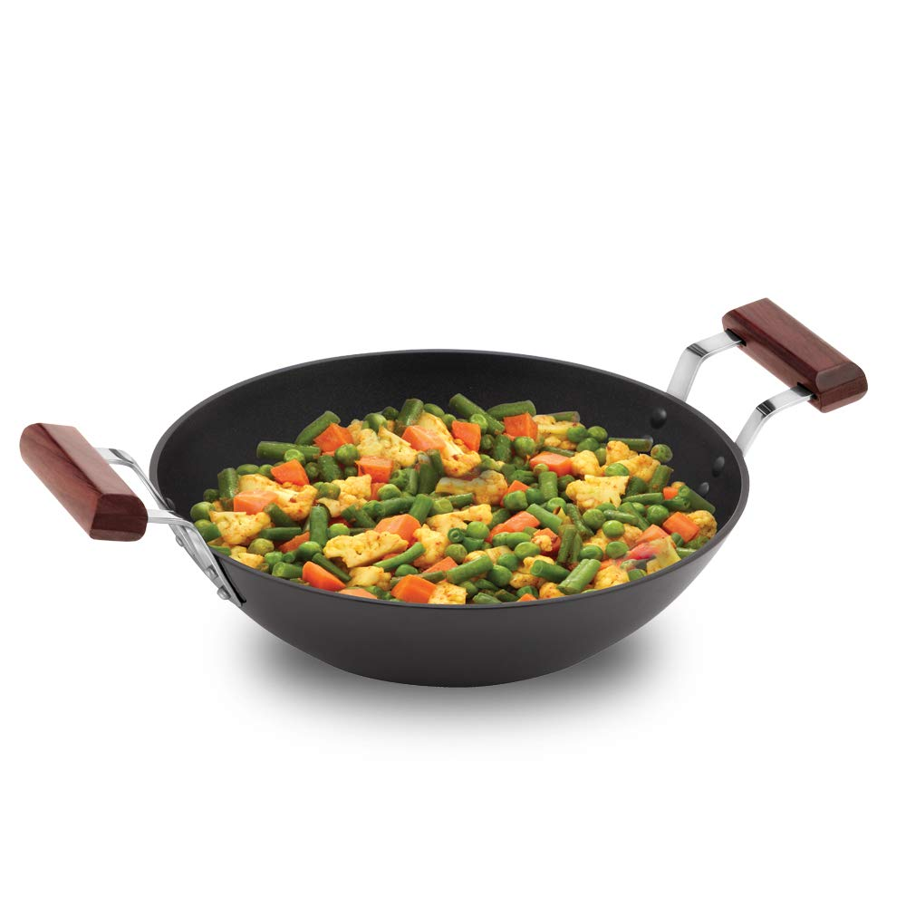 FUTURA HARD ANODISED DEEP-FRY PAN